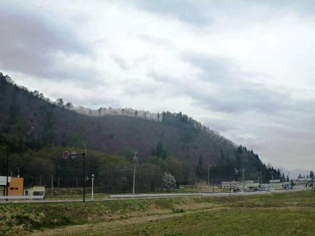 秋葉山砦遠景 (1)
