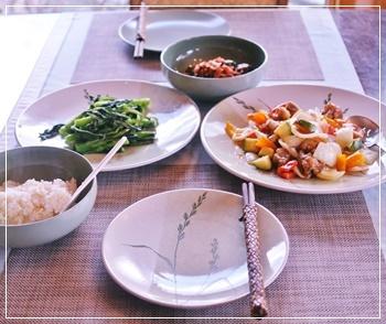 夕飯です、1
