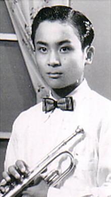 新崎純、14歳中学