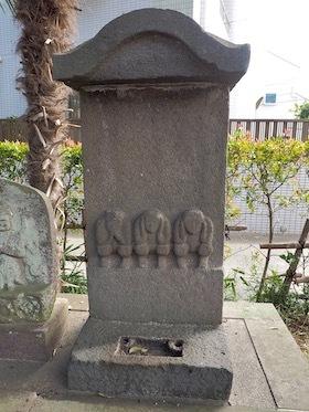 8八幡神社の庚申塔