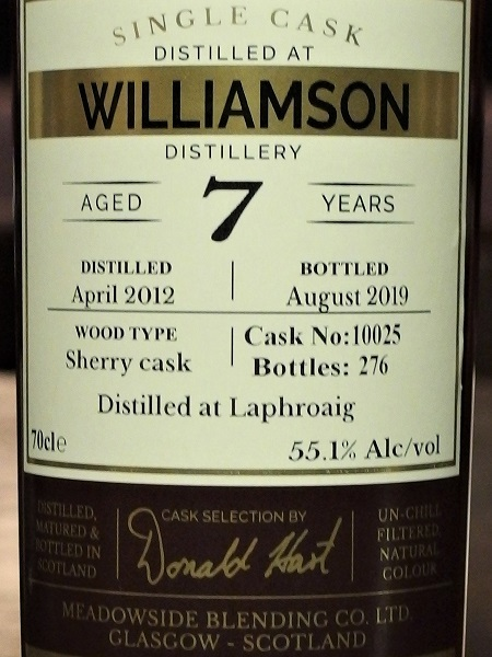 The Maltman WILLIAMSON 2012 7yo_LL600