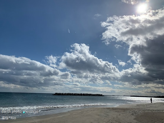 Earth photo message265 海