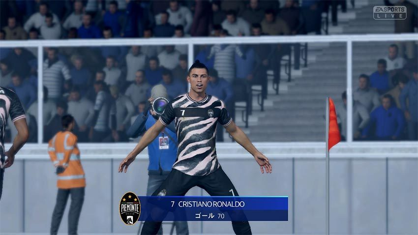 FIFA21 Swirch版 ロナウド