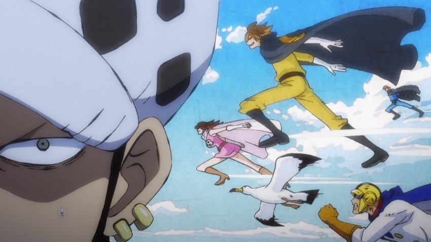 ワンピース アニメ ジェルマ66
