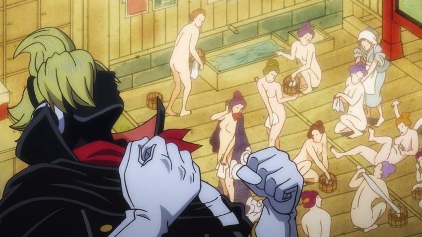 ワンピース アニメ おそばマスク