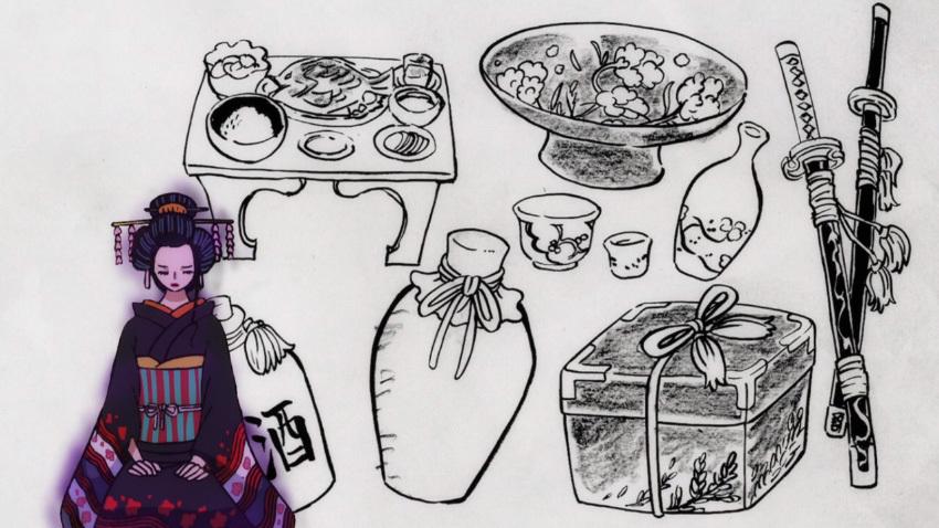 ワンピース アニメ ロビン