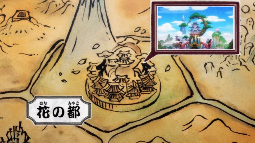 ワンピース ワノ国 地図