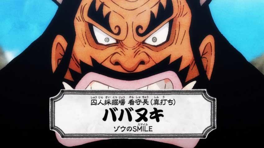 ワンピース アニメ ババヌキ