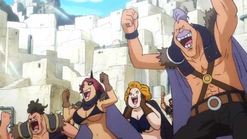 ワンピース アニメ 百獣海賊団