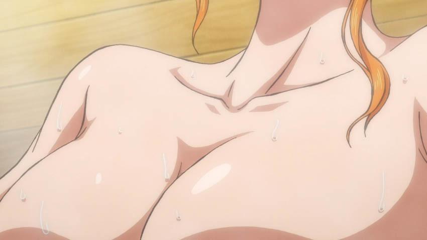 ワンピース アニメ ナミ 湯屋