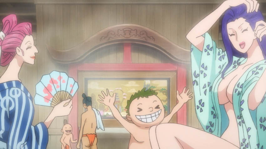 ワンピース アニメ 湯屋