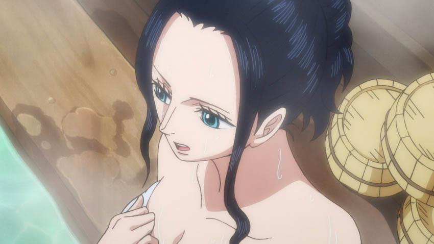 ワンピース アニメ ロビン 湯屋