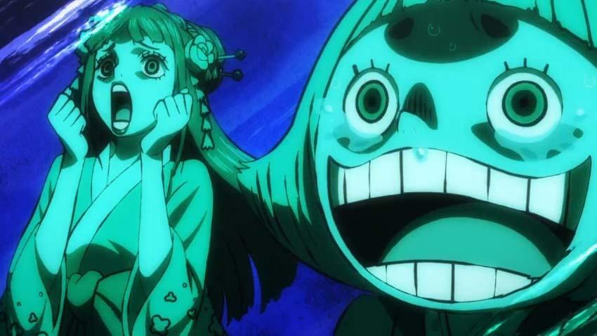 ワンピース アニメ 日和 おトコ