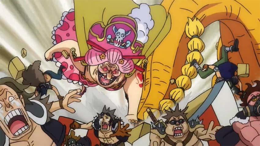 ワンピース アニメ ビッグマム