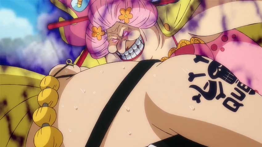 ワンピース アニメ ビッグマム クイーン