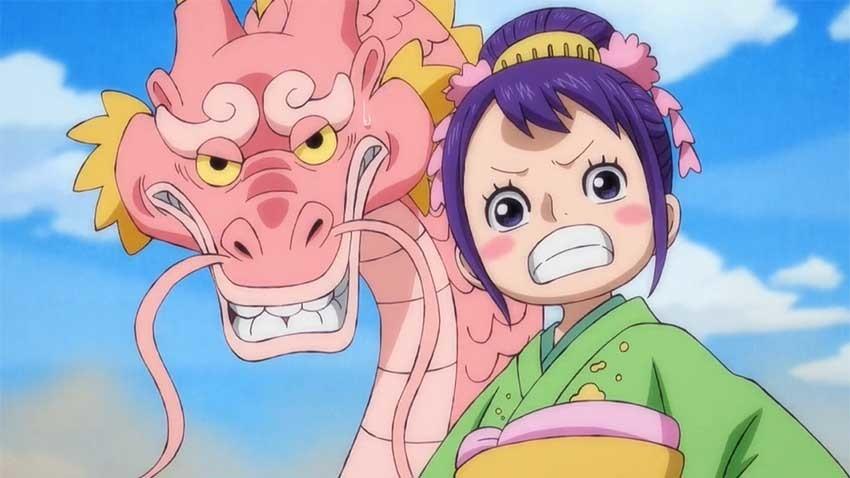 ワンピース アニメ モモの助 お玉