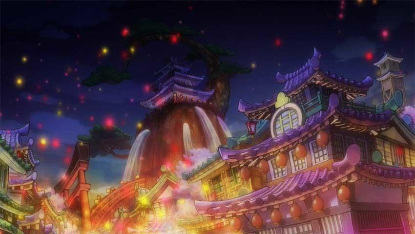 ワンピース アニメ 火祭り