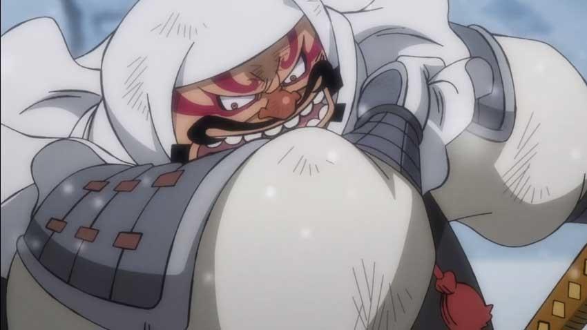 ワンピース アニメ 牛鬼丸
