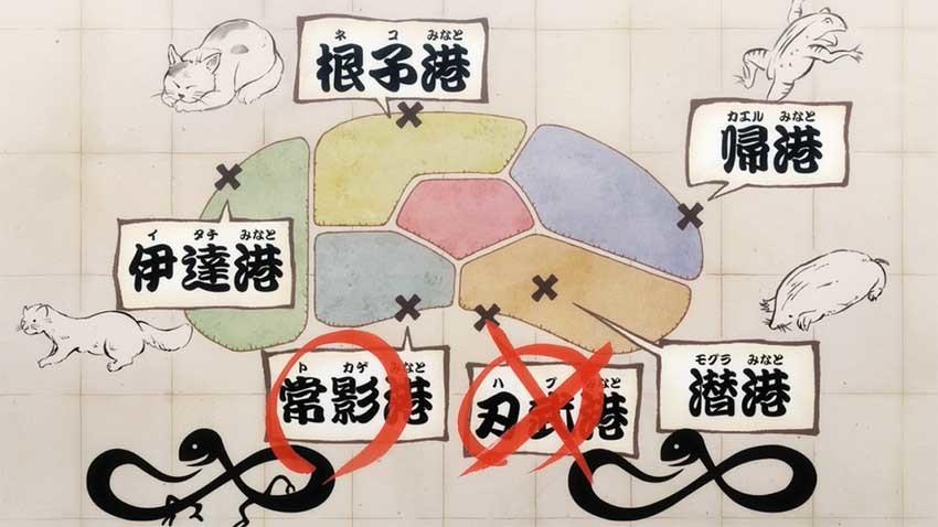 ワンピース アニメ トカゲ港