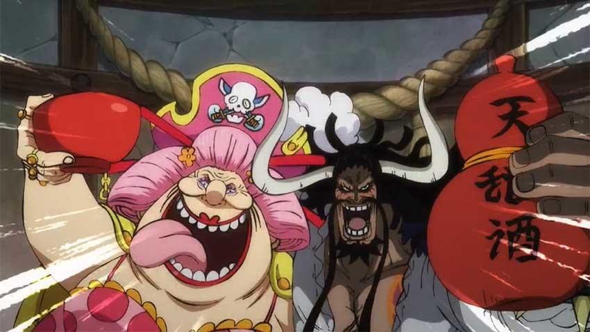 ワンピース アニメ カイドウ ビッグマム 同盟