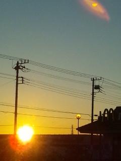 2012-11-15今朝の太陽