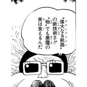 """""""物""""でも悪魔の実は食えるんだ -ONE PIECE最新考察研究室.184"""