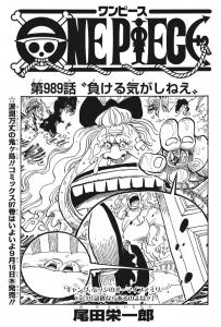 第989話扉絵 -ワンピース最新考察研究室.989