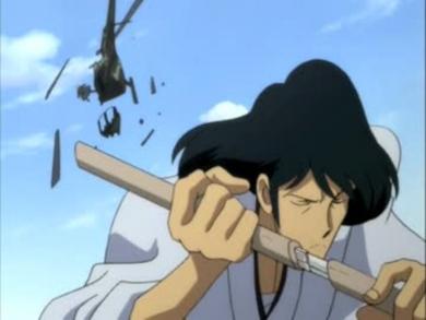 ルパン三世、石川五ェ門。つまらないものを斬ってしまった。
