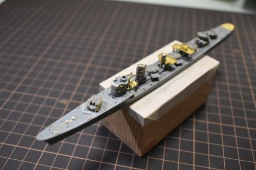 駆逐艦 島風 製作中 仮置きDSC_0435◆模型製作工房 聖蹟