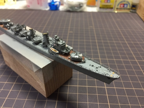 駆逐艦 『島風』 砲身設置RREXZygpJU8AA2wFN◆模型製作工房 聖蹟