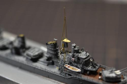 駆逐艦 『島風』 前マスト 製作EXnGziAUMAAoAPE◆模型製作工房 聖蹟