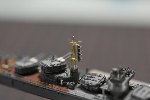 駆逐艦 『島風』 後マスト 製作 DSC_0643◆模型製作工房 聖蹟