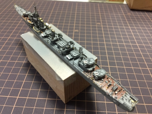 駆逐艦 『島風』 製作中EYDEuCCUcAA4LgY◆模型製作工房 聖蹟