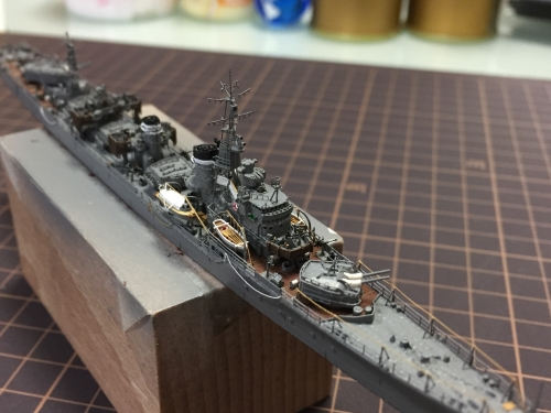 高速・重雷装 駆逐艦 『島風』 製作中 IMG_1534◆模型製作工房 聖蹟