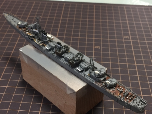 高速・重雷装 駆逐艦 『島風』 製作中 IMG_1573◆模型製作工房 聖蹟