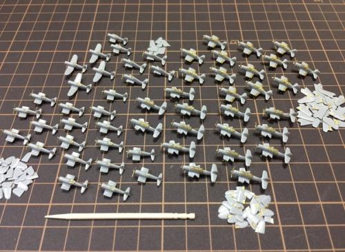 米航空母艦 『バンカーヒル』 艦上機製作中Ebli6zGVcAAkLUU◆模型製作工房 聖蹟
