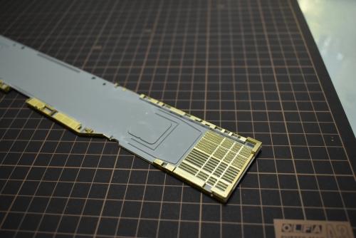 バンカーヒル(CV-17) 甲板裏製作 DSC_004◆模型製作工房 聖蹟