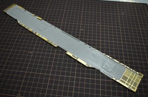 バンカーヒル(CV-17) 甲板裏製作 EcjWAD8UYAA1R◆模型製作工房 聖蹟