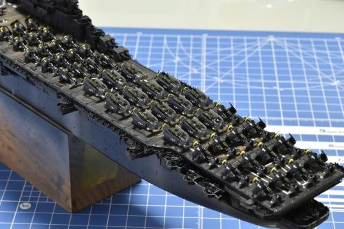 米航空母艦 バンカーヒル(1945年2~3月頃)艦上機設置完了 DSC_1085◆模型製作工房 聖蹟