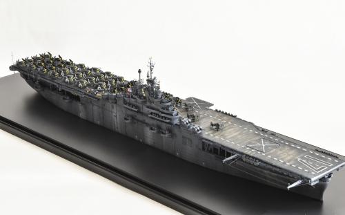 米航空母艦「バンカーヒル」(1945年2~3月頃)完成DSC_0002-1-2-2500◆模型製作工房 聖蹟