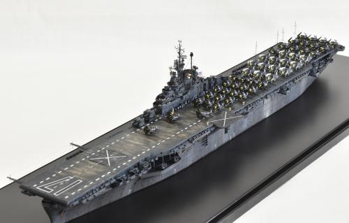 米航空母艦「バンカーヒル」(1945年2~3月頃)完成DSC_0870-1-2-2500◆模型製作工房 聖蹟