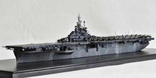 米航空母艦「バンカーヒル」(1945年2~3月頃)完成DSC_0939-1-2-2500◆模型製作工房 聖蹟