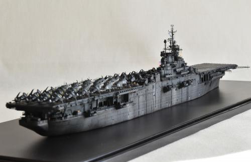 米航空母艦「バンカーヒル」(1945年2~3月頃)完成DSC_1045-1-2-2500◆模型製作工房 聖蹟