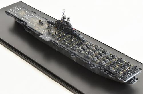 米航空母艦「バンカーヒル」(1945年2~3月頃)完成DSC_1061-1-2-2500◆模型製作工房 聖蹟