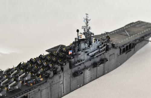 米航空母艦「バンカーヒル」(1945年2~3月頃)完成 DSC_0746-1-(3)-2500◆模型製作工房 聖蹟