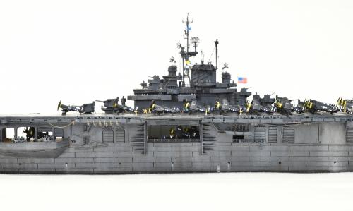 米航空母艦「バンカーヒル」(1945年2~3月頃)完成DSC_0261-1-2-2500◆模型製作工房 聖蹟