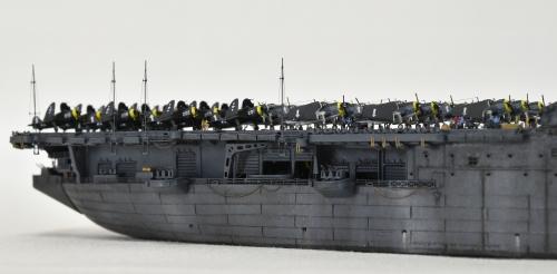 米航空母艦「バンカーヒル」(1945年2~3月頃)完成DSC_0271-1-2-2500◆模型製作工房 聖蹟