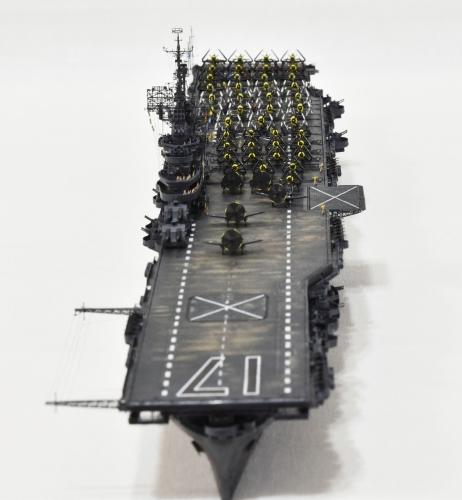 米航空母艦「バンカーヒル」(1945年2~3月頃)完成DSC_0354-1-3-2500◆模型製作工房 聖蹟