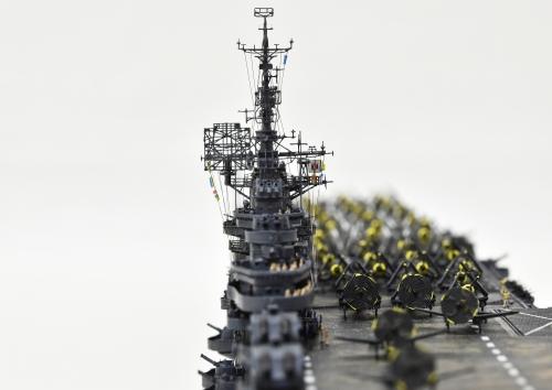 米航空母艦「バンカーヒル」(1945年2~3月頃)完成DSC_0398-1-3-2500◆模型製作工房 聖蹟