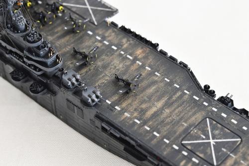米航空母艦「バンカーヒル」(1945年2~3月頃)完成DSC_0494-1-2500◆模型製作工房 聖蹟